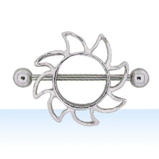 Solar Nipple Rings