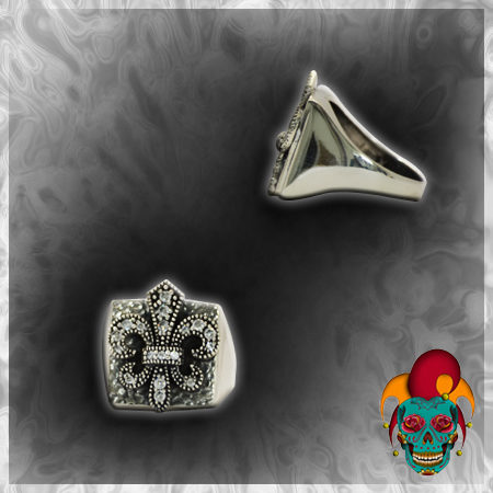 Clubs Silver Ring