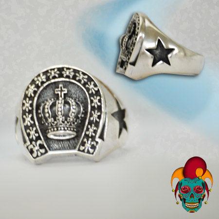 Royal Star Silver Ring