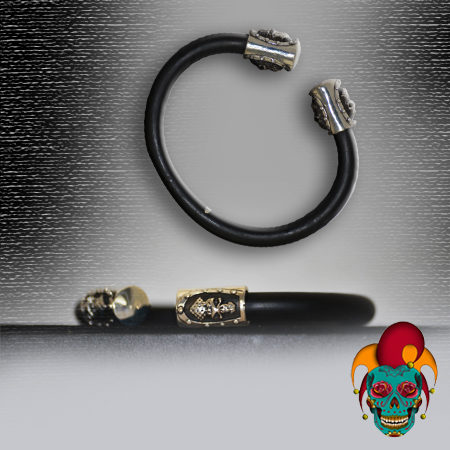Black Rubber Bangle