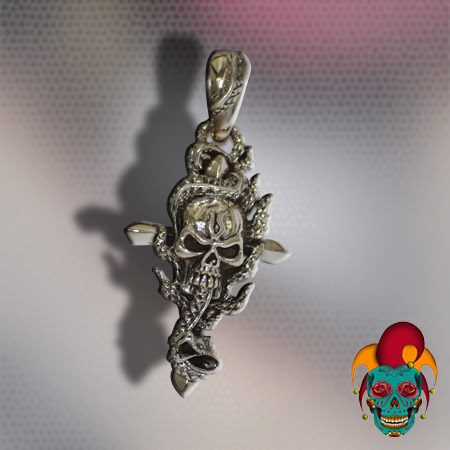 Monster Silver Pendant