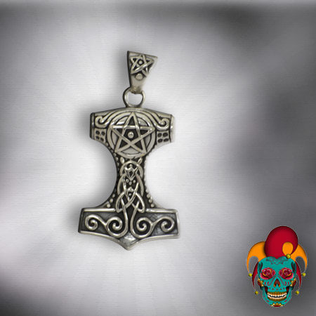 Tower Design Silver Pendant