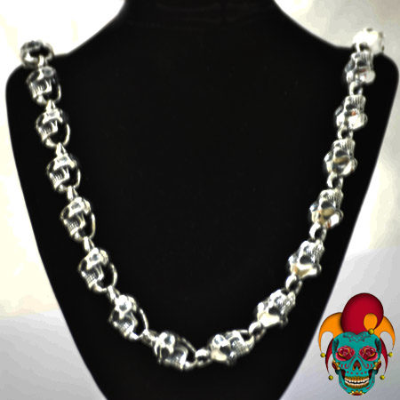 Multiple Skull Faced Chain