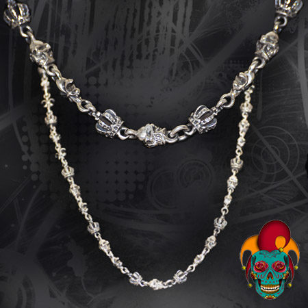 Female Touch Silver Chain
