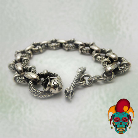 Multiple Layer Silver Bracelet
