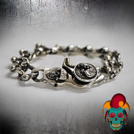 Artistic Silver Bracelet