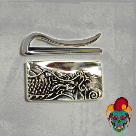 Crowded Design Silver Money Clip