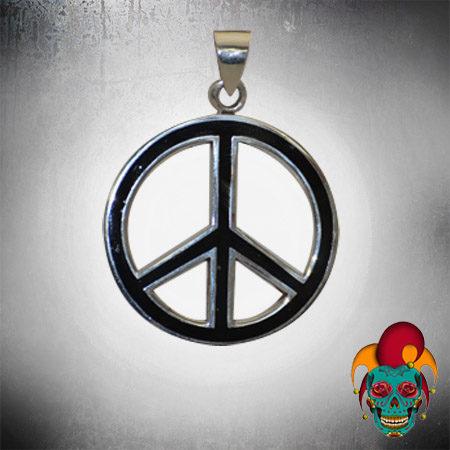 Peace Silver Pendant