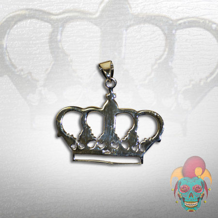 Crown Silver Pendant