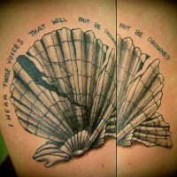 Quotes and Designs Tattoo