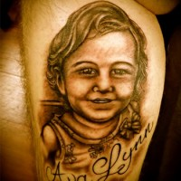 Child-Portrait-Tattoo