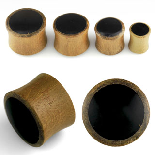 Wood Color Ear Plugs
