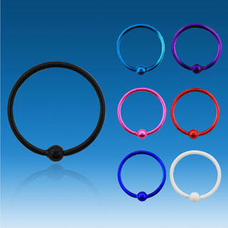 Colorful Circle Shaped Earrings