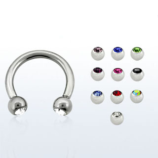 Centered Color Glow Earrings