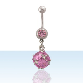 Pink Fusion Navel Rings