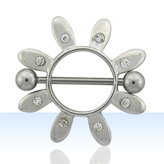 Glamorous Solar Nipple Rings