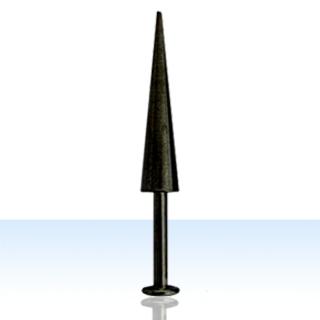 Black Cone Lip Rings