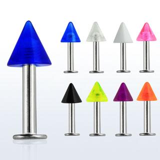 Colorful Arrow Design Lip Rings