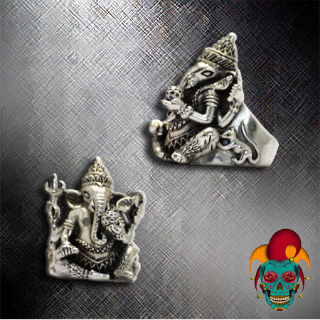 Thai Elephant Silver Ring
