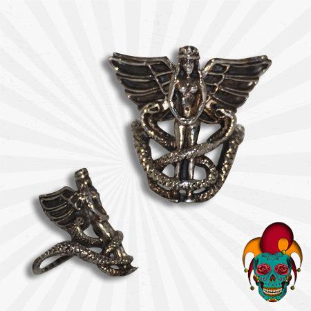 Egyptian Queen Silver Ring
