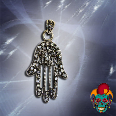 Illuminati Silver Pendant