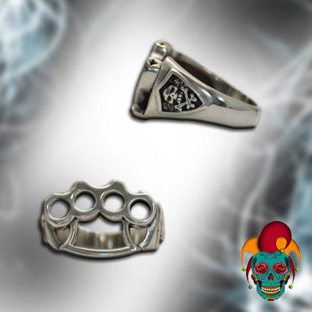 Multi Hand Cuff Silver Ring