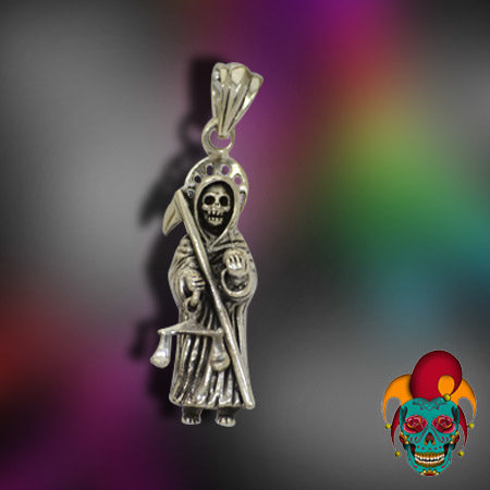 Ghost Hunter Silver Pendant