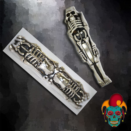 Sleeping Skeleton Bangle