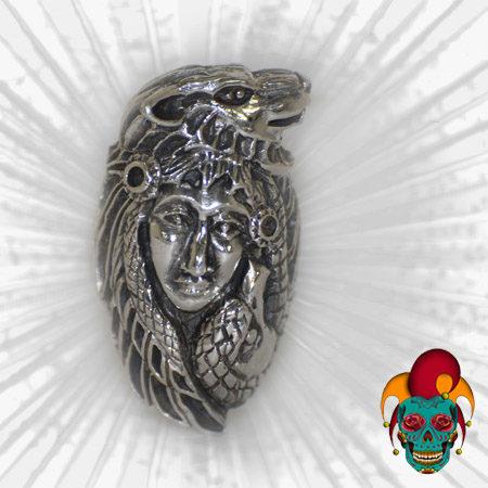 Animal Wig Silver Ring