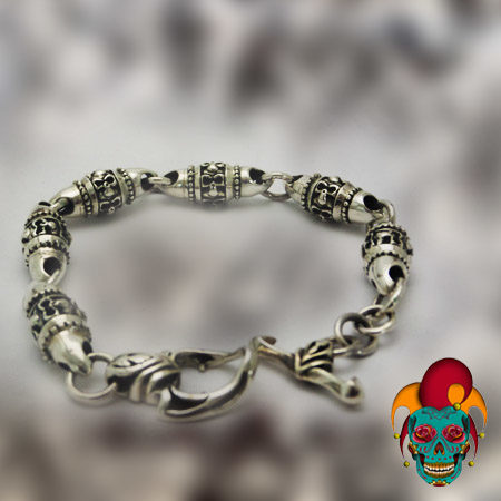 Chunks Silver Bracelet