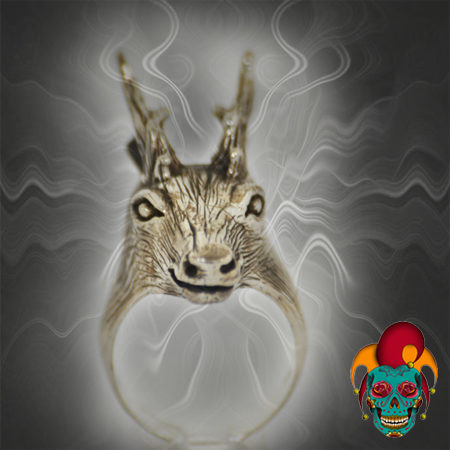 Mule Silver Ring