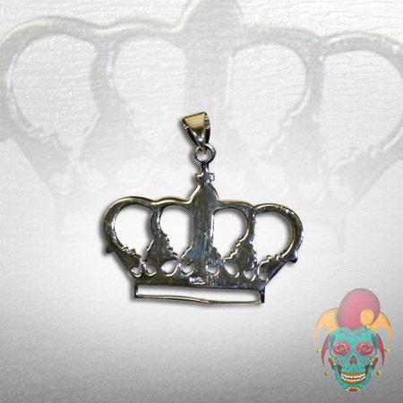Crown Silver Pendant