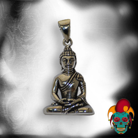 Buddha Silver Pendant